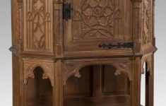 Antique Furnitures For Sale Best Of 19th Century Gothic Revival Carved Oak Cabinet 1800s