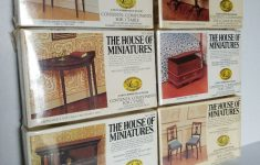 Antique Reproduction Furniture Kits Elegant 6 The House Of Miniatures Dollhouse Furniture Kits Sealed X Acto