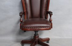 Antique Reproduction Office Furniture Best Of Solid Mahogany Wood Hi Back Leather Fice Chair Classic Chair