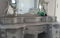 Antique Silver Furniture Paint Elegant This Amazing 1932 S Vintage Vanity & Mirror Were Requested