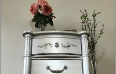 Antique Silver Furniture Paint Lovely How To Paint Furniture With The Best Silver Metallic Paint
