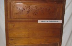 Antique Walnut Bedroom Furniture New 1870 Eastlake Walnut Bed Antique American Furniture