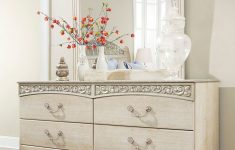 Antique White Dresser Bedroom Furniture Luxury Ashley Catalina Antique White Queen Poster Bed Dresser & Mirror