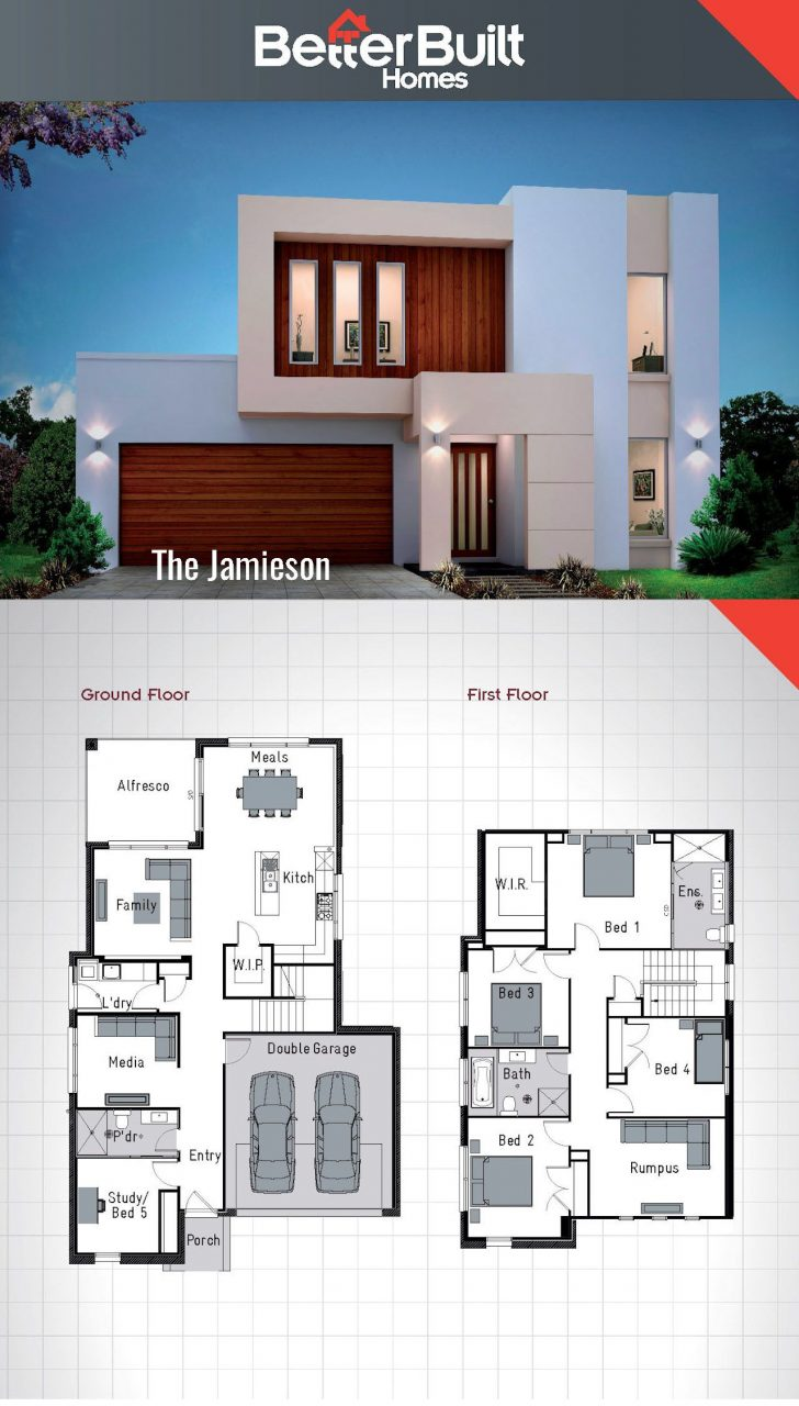 Architectural House Plans and Designs 2020