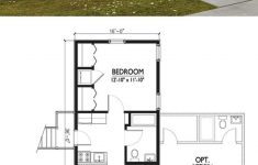 Backyard Tiny House Plans New Cottage Style House Plan 1 Beds 1 Baths 576 Sq Ft Plan