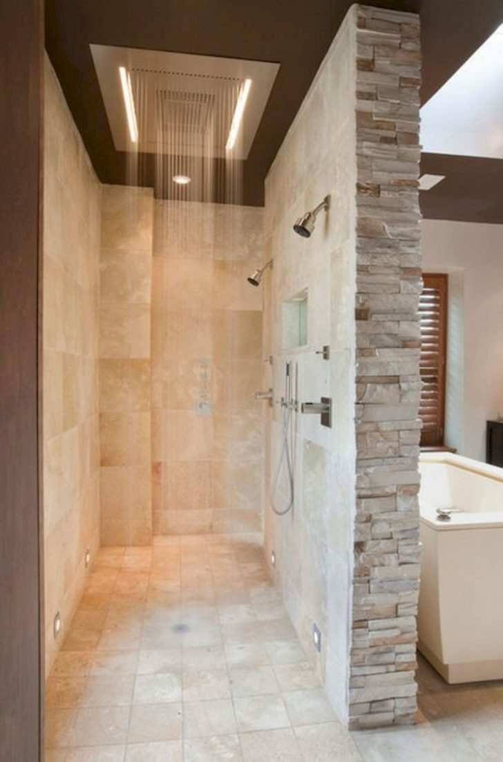 Bathroom Shower Ideas No Door 2020
