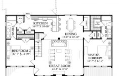 Beach Cabin House Plans New Cabin Style House Plan 2 Beds 2 Baths 1727 Sq Ft Plan 137