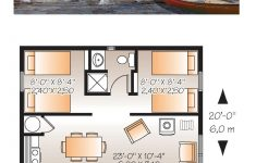 Beach Cabin House Plans Unique Cabin Style House Plan Number With 2 Bed 1 Bath