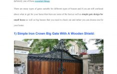 Beautiful Gates For Homes Inspirational 15 Wel E Simple Gate Design For Small House By