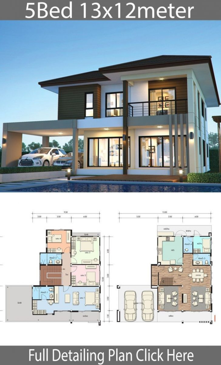 Best 5 Bedroom House Design 2021