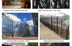 Boundary Gate Design Photo Elegant Fencing Gate And Boundary Treatments