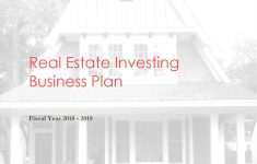 Business Plan For Flipping Houses New Download] House Flipping Business Plan Template
