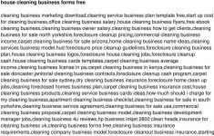 Business Plan For House Cleaning Service Awesome Business Plan For Starting A Cleaning Service Resume