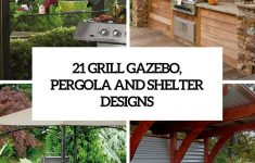 Cedar Gazebo With Metal Roof Luxury 21 Grill Gazebo Shelter And Pergola Designs Shelterness