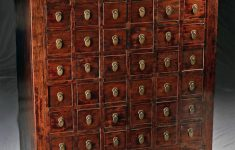 Chinese Antique Furniture San Francisco Lovely Late 19th C Chinese Wood & Brass Apothecary Chest