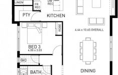 Coastal House Plans Narrow Lots Luxury Horizon Narrow Single Storey Floor Plan Wa