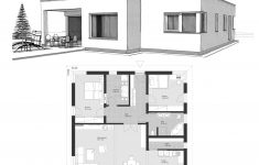 Contemporary Modern House Plans With Flat Roof Lovely Bungalow House Plans With E Level 2 Bedroom & Flat Roof