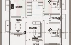 Cost To Build 1300 Square Foot House Luxury Below 2000 Square Feet House Plan And Elevation