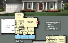 Cost To Build Craftsman Home Lovely Plan Glv Country Colonial With 3 Bedrooms And Bonus