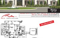 Custom Home Plans Cost Awesome Remy — Custom Home Design House Plans