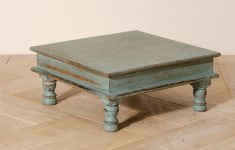 Distressed Coffee Table Uk Fresh Antique Distressed Finish Hand Painted Bajot Table Tables
