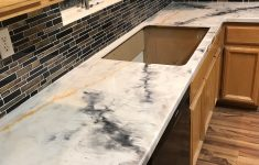 Diy Tile Countertop Resurfacing Awesome Epoxy Countertop We Don T Often See This Color Bo But