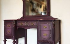 Donate Antique Furniture To Charity Awesome Sold Antique Painted Vanity Dresser Plum And Gold Purple