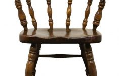 Ethan Allen Antique Pine Furniture Best Of Ethan Allen Antiqued Pine Old Tavern Mate S Chair W Casters