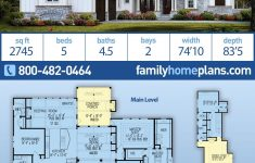 Exposed Beam House Plans Fresh Craftsman Style House Plan With 5 Bed 5 Bath 2 Car