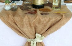 Fall Table Runners To Make Beautiful Jute Table Runner Perfect For Thanksgiving Table Settings