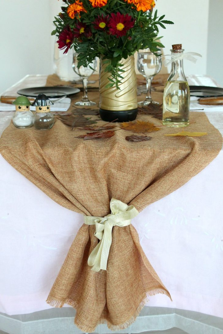 Fall Table Runners to Make 2020