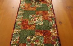 Fall Table Runners To Make Fresh Autumn Colors Fall Table Runner