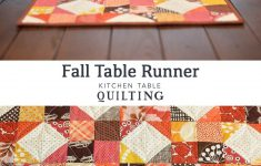 Fall Table Runners To Make Inspirational Fall Table Runner