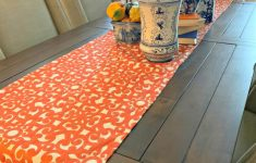 Fall Table Runners To Make Inspirational Learn How To Make A Simple Table Runner