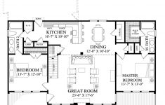 Floor Plans For A 2 Bedroom House Inspirational Cabin Style House Plan 2 Beds 2 Baths 1727 Sq Ft Plan 137 295