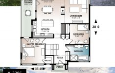 Floor Plans For A 2 Bedroom House Luxury Modern Economical Bungalow With Walkout Basement 2 Bedroom