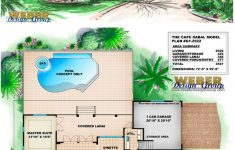 Florida House Plans With Pool Lovely Cape Sabal House Plan