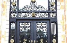 Front Gate Arch Design Awesome Wrought Iron Single Gate Designs Wrought Iron Front Door