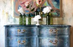 Hand Painted Antique Furniture New Hand Painted Blue Dresser – Hand Painted Vintage Furniture