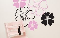 Hibiscus Flower Wall Stickers Awesome Décor Decals Stickers & Vinyl Art Children S Bedroom Child