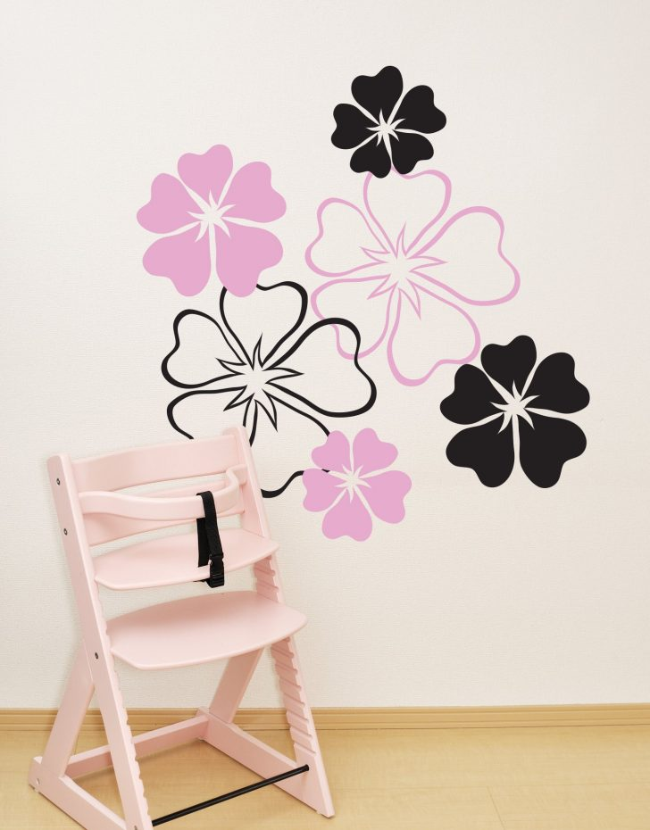 Hibiscus Flower Wall Stickers 2020