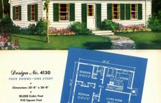 Home Planners House Plans Elegant 130 Vintage 50s House Plans Used To Build Millions Of Mid