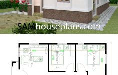 Home Plans Free Downloads Lovely House Plans 7x10 With 3 Bedrooms In 2020