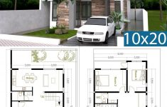 House Design Images Free Inspirational 4 Bedroom Modern Home Plan Size 8x12m