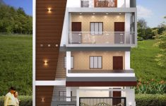 House Elevation For Three Floors Building Elegant 3d Building Elevation 3d Front Elevation