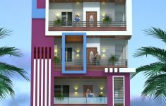 House Elevation For Three Floors Building Inspirational Top Indian 3d Front Elevation Modern Home Design 4 Bhk 2
