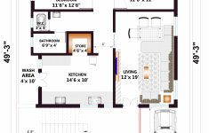 House Plan For Indian Homes New 2bhk House Plan Indian House