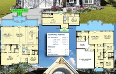 House Plans For A View Lot New Plan Ah Craftsman House Plan For A View Lot