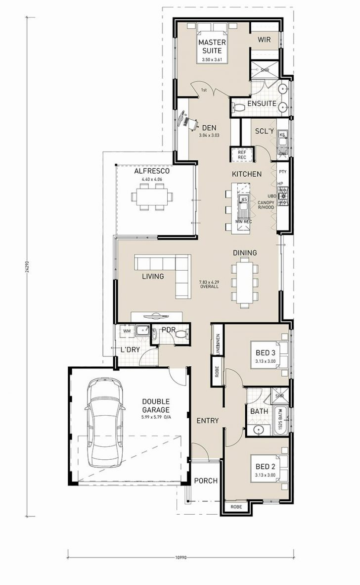 House Plans Single Level 2020