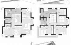 House Plans With 2 Living Rooms Best Of House Floor Plans With 2 Story & Gable Roof Modern